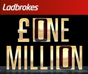 ladbrokes casino 1 million