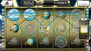 Mega Fortune mobile slots win