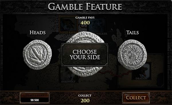 online casino game of thrones