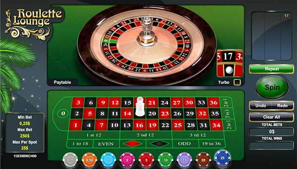 Paddy Power Casino roulette