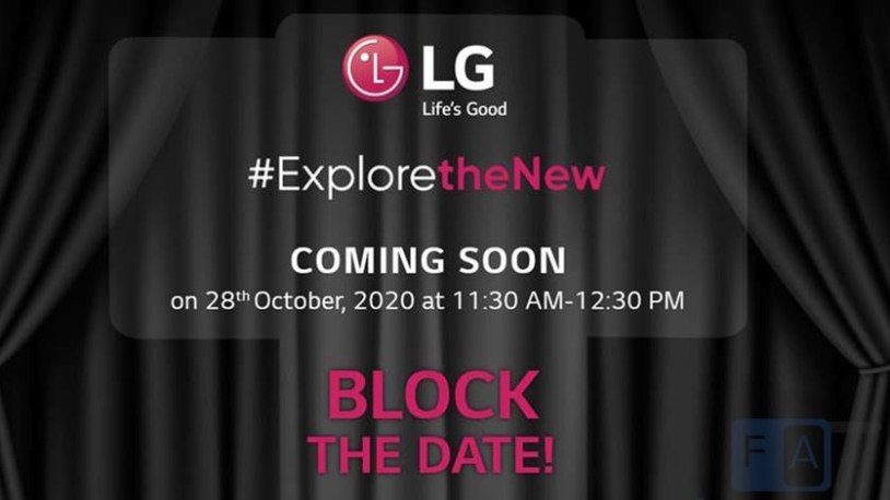LG Wing India launch invite