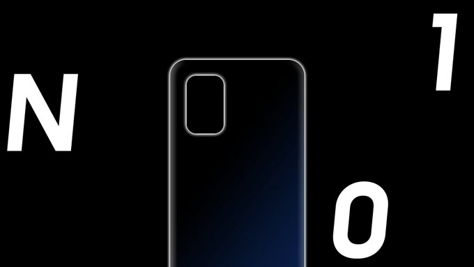 OnePlus Nord N10 5G rear design