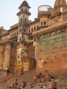 Maharaja's palace at the ghats