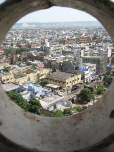 Jaipur from a minaret
