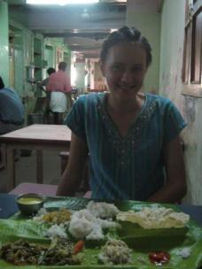 Me and the enormous thali