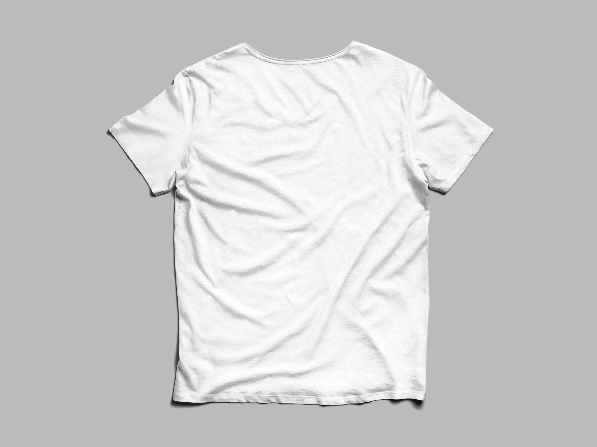 T Shirt Front And Back Mockup The Mockup Club