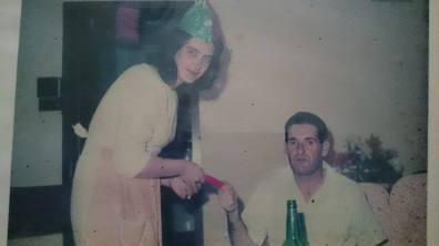 Margot's parents in Hong Kong in the early 1960s