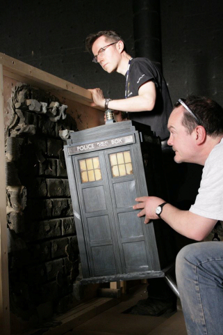 The Day of the Doctor - model filming
