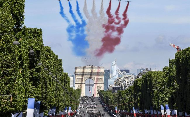 Update American Troops To Lead Bastille Day Parade In