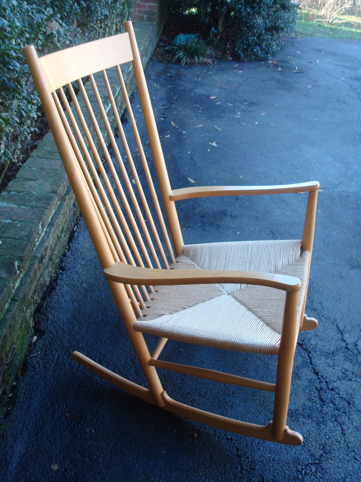 Hans J Wegner J16 Rocking Chair  themodern60