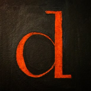 Day 4 - Didot, lowercase
