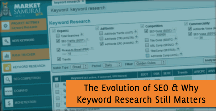 SEO & Keyword Research Tools