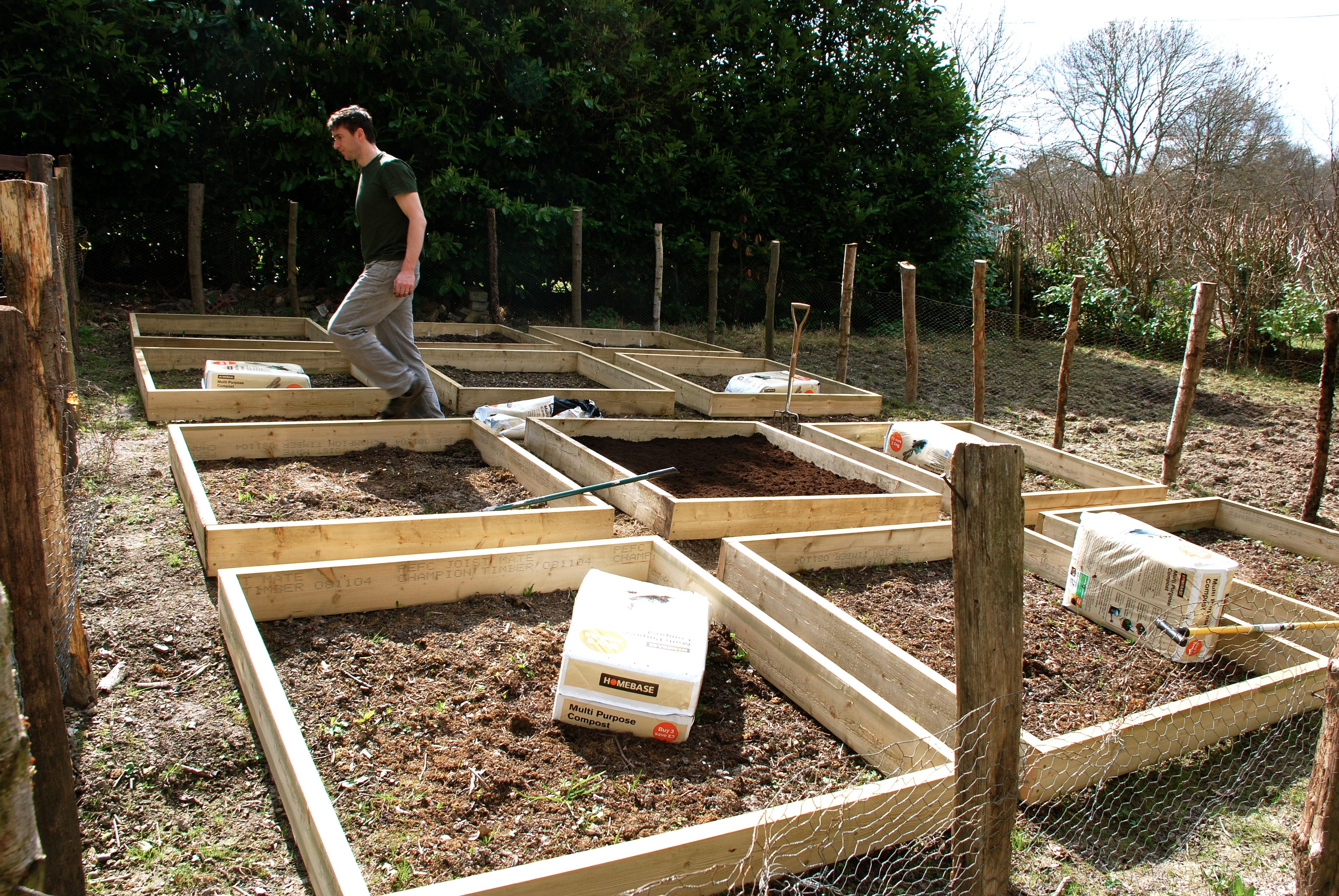 500x333 Two Tier Raised Bed Garden Bed Design Landscape