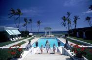 Slim Aarons Poolside Neo-Classical Pool