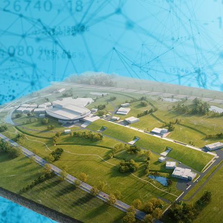 TMG Film Productions 3D visualization of the ESS research facility, Sweden