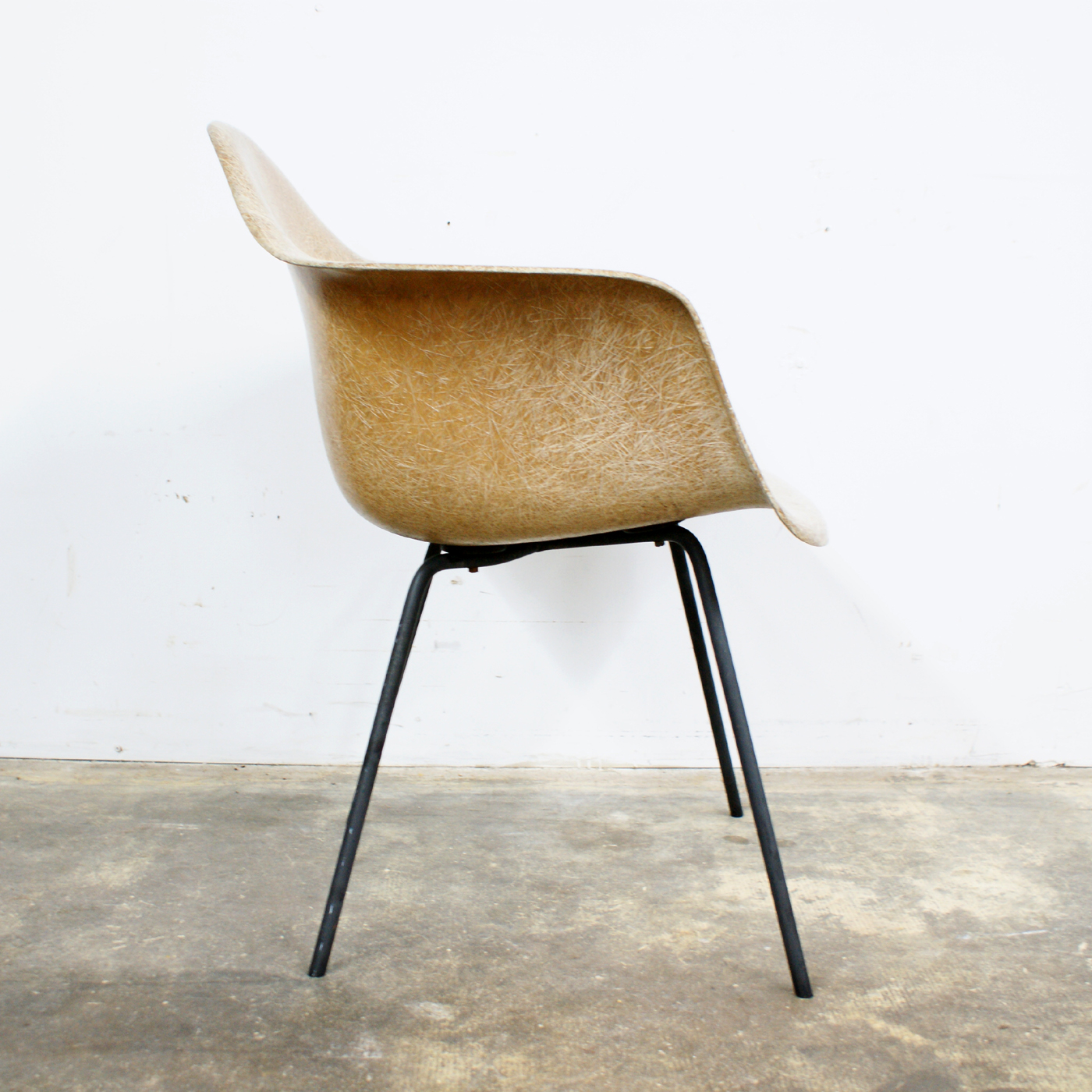 eames arm chair covers and more houston tx early production charles herman miller shell