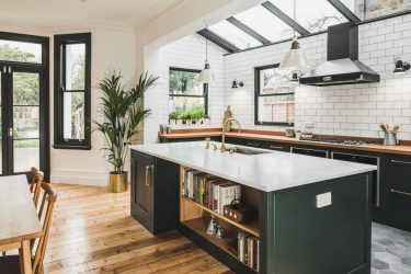 kitchens modern sustainable