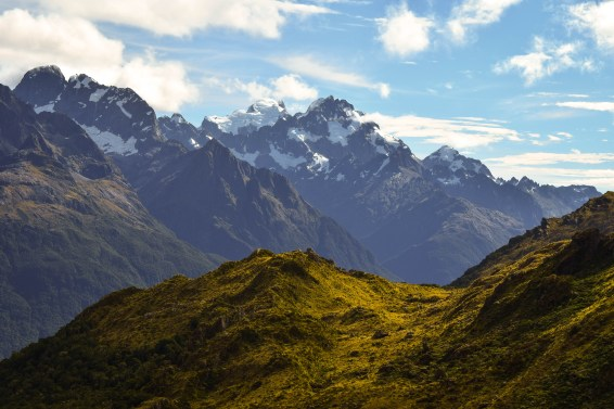 Views from the Routeburn Track. South Island, New Zealand.