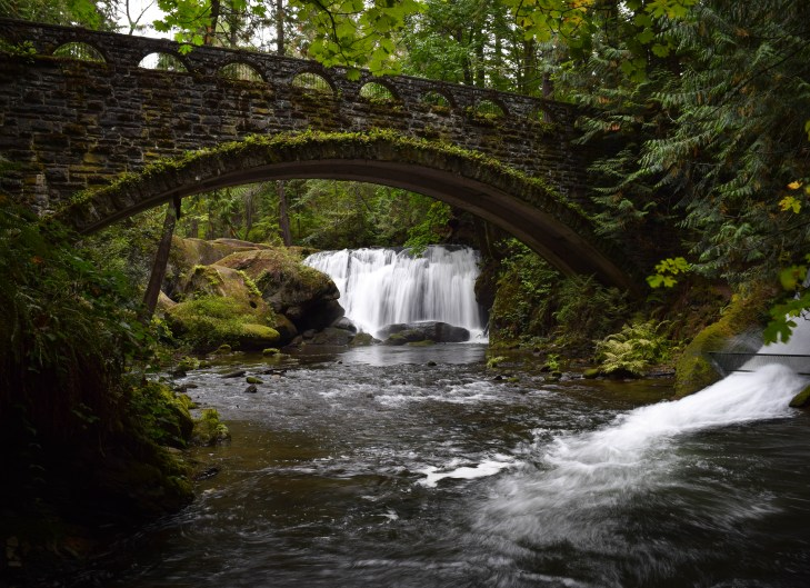 Whatcom Falls Park. Bellingham, Washington.