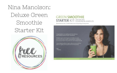 Deluxe Green Smoothie Starter Kit