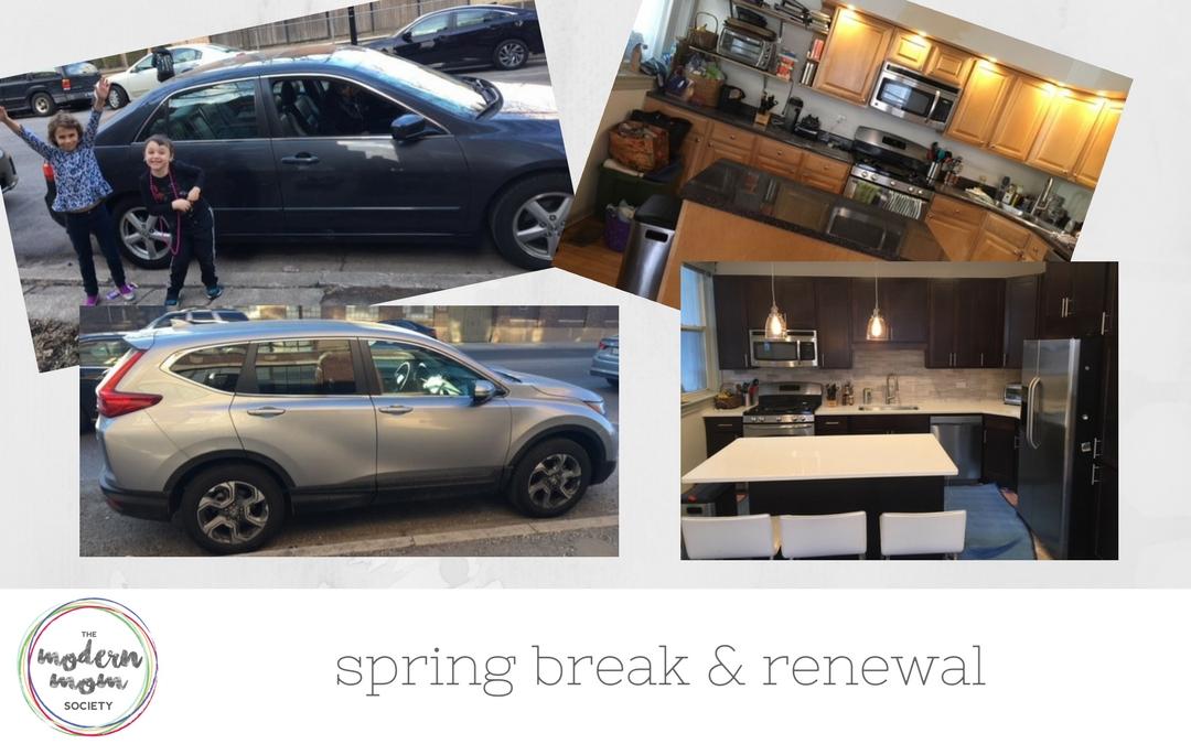Spring Break and Renewal