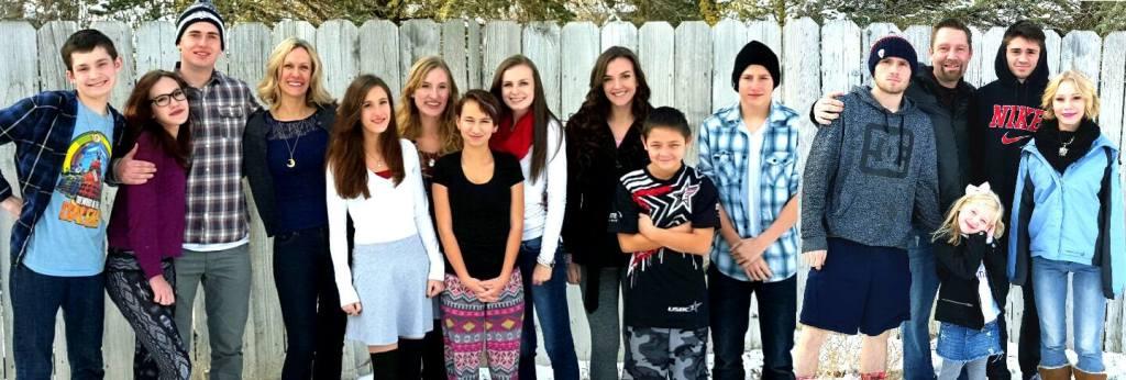 Jenn's big family
