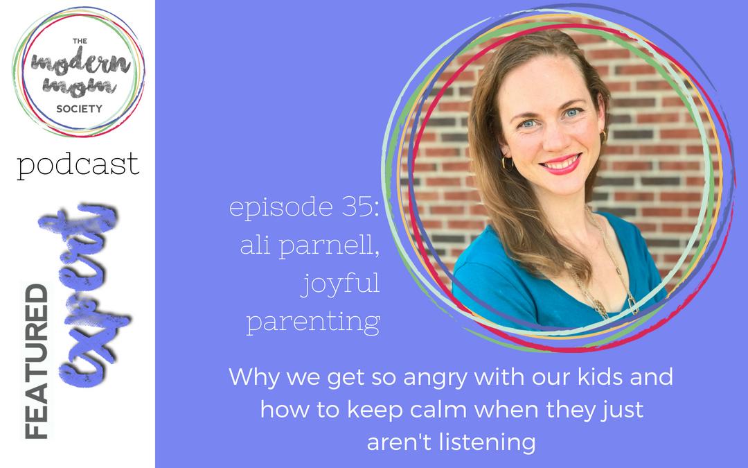 Episode 35: Ali Parnell, Joyful Parenting
