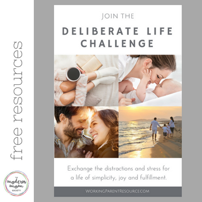 deliberate life free resource
