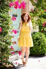 Cute Yellow Dress Spring Fashion Modern Savvy