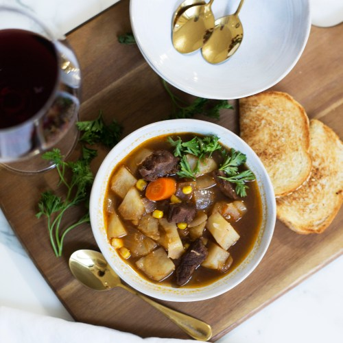 Delicious Tipsy Irish Beef Stew