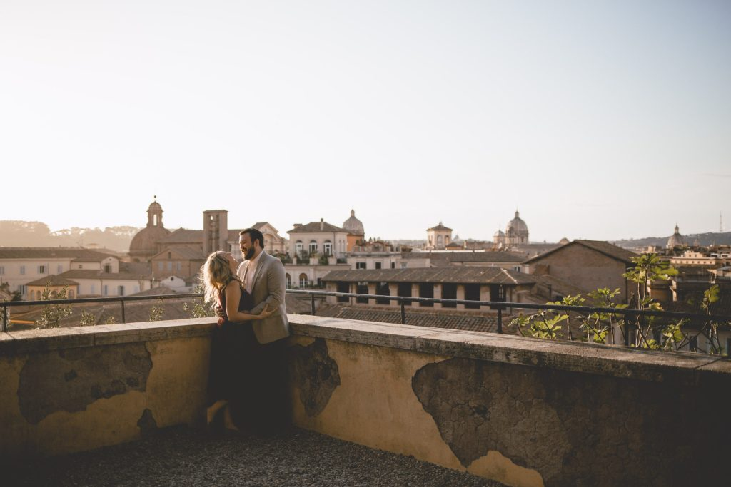 Celebrating our love in Rome
