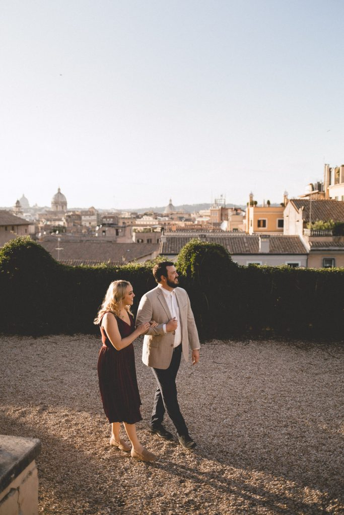 Our romantic getaway in Rome