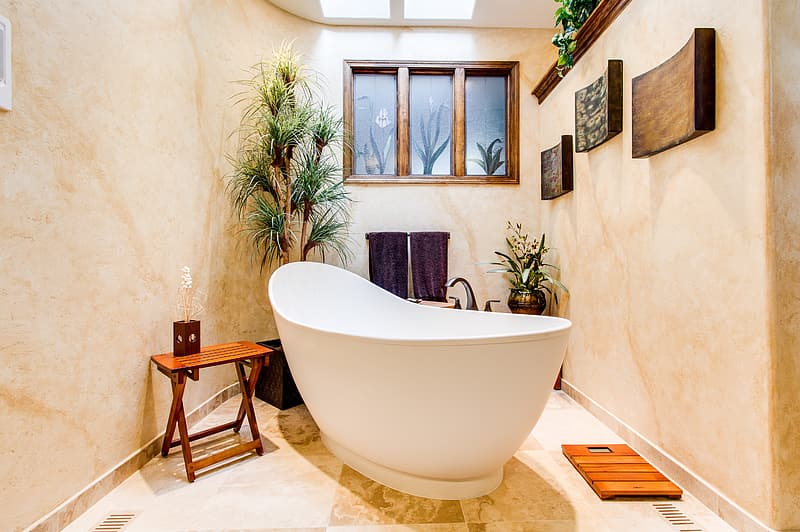 Beautiful bathroom retreat