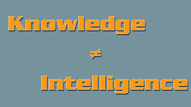 opinions and knowledge is the key for indifference and ignorance