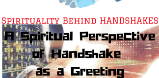 What is the Spiritual Perspective of Greeting Someone by Handshake?