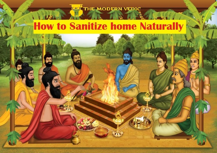 How to sanitize our home naturally?