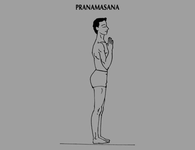 Pranamasana
