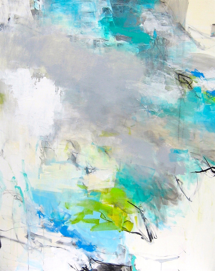 Foust Above the Clouds 60x48 Acrylic on Canvas