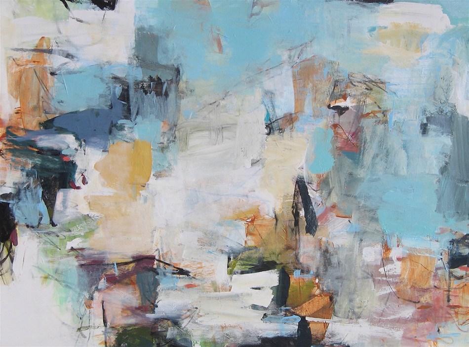 Foust Big Sky 36x48 Acrylic on Canvas