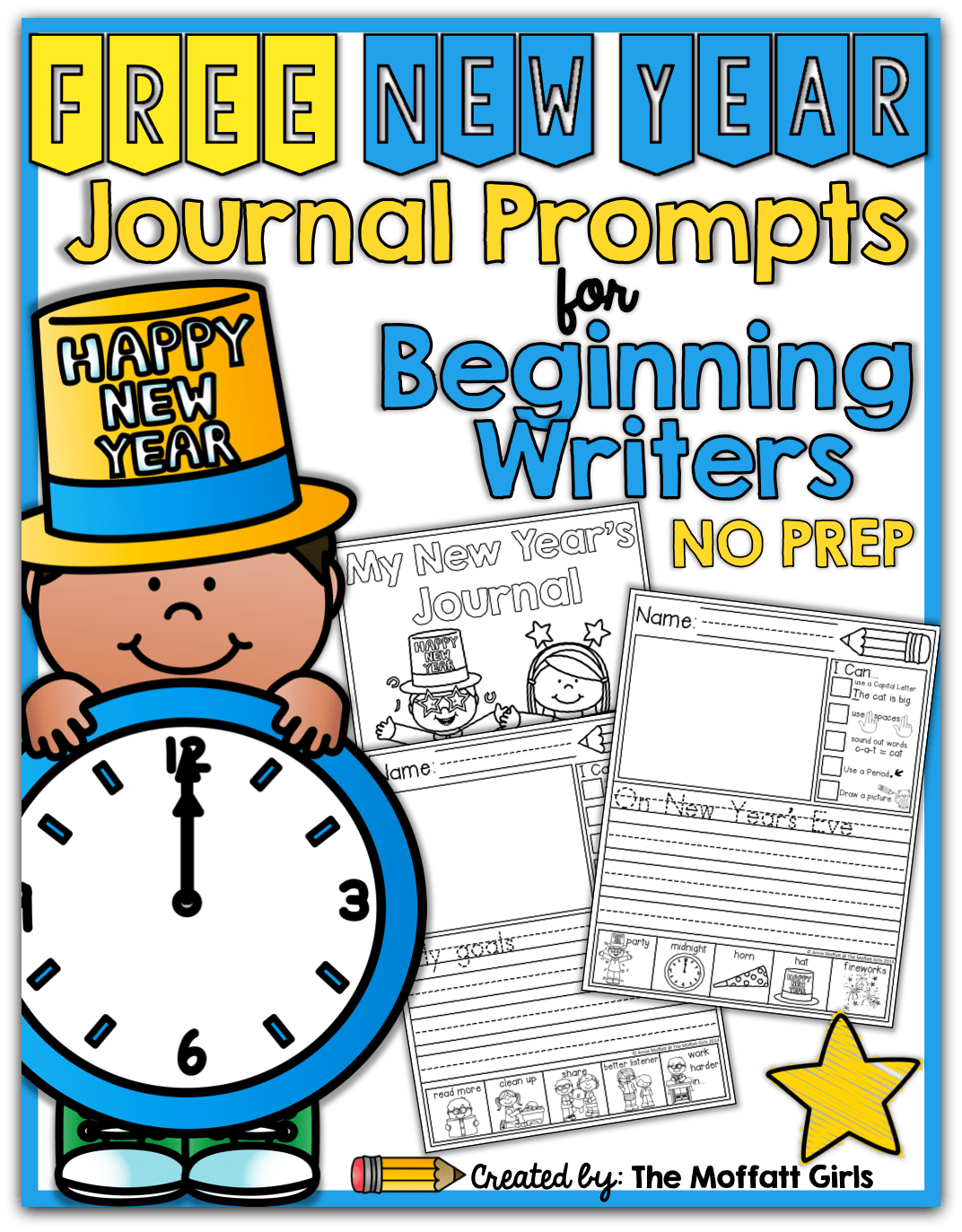 Free New Year Journal Prompts For Beginning And Or