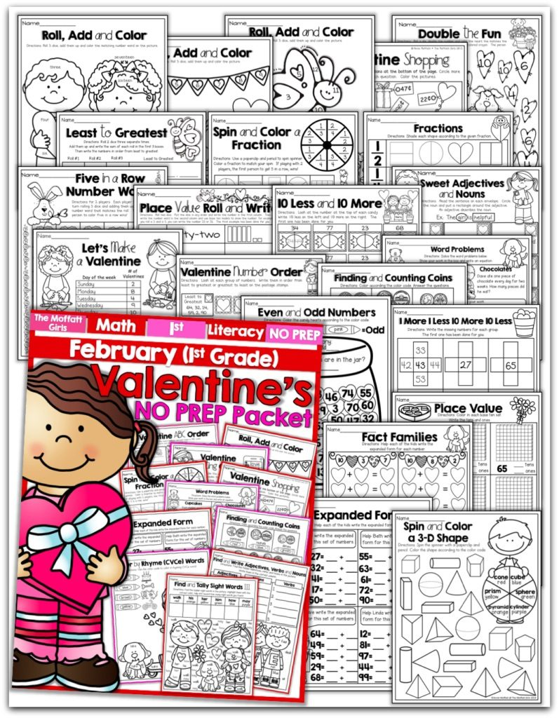 hight resolution of February FUN-Filled Learning!