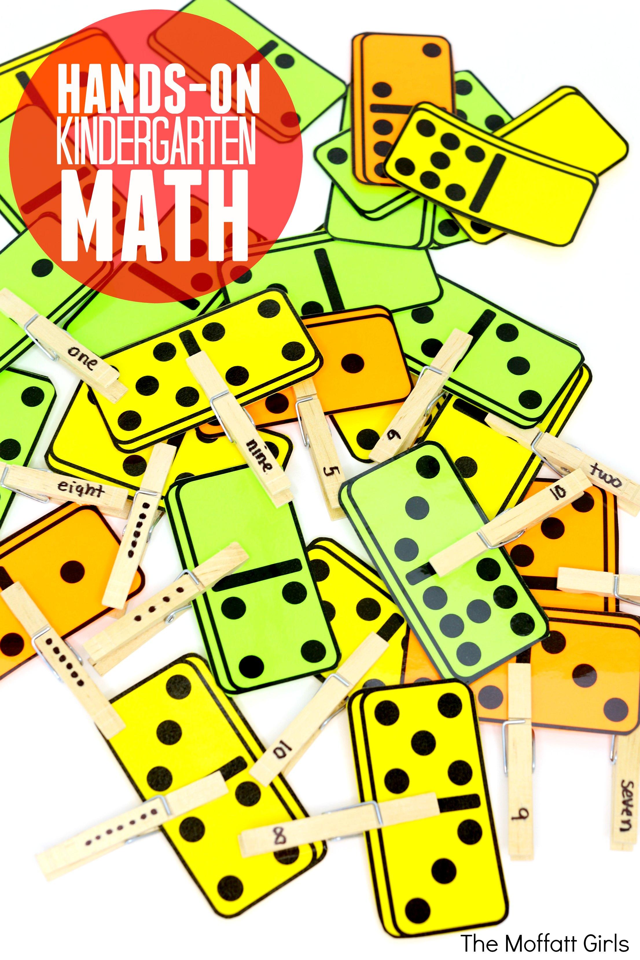 Domino Math For Kindergarten