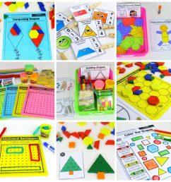 Kindergarten Math Curriculum: Shapes [ 1024 x 1024 Pixel ]