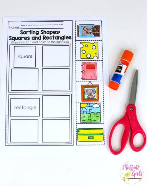 small resolution of Kindergarten Math Curriculum: Shapes