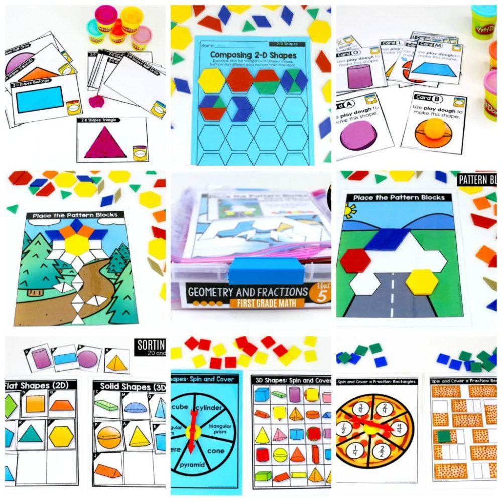 medium resolution of First Grade: Geometry