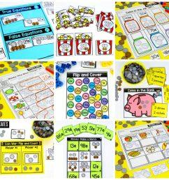 First Grade Math: Money [ 1024 x 1024 Pixel ]