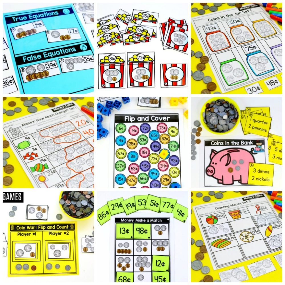 medium resolution of First Grade Math: Money