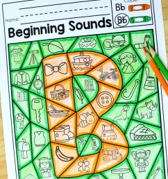 Beginning Sounds Color [ 3061 x 2040 Pixel ]