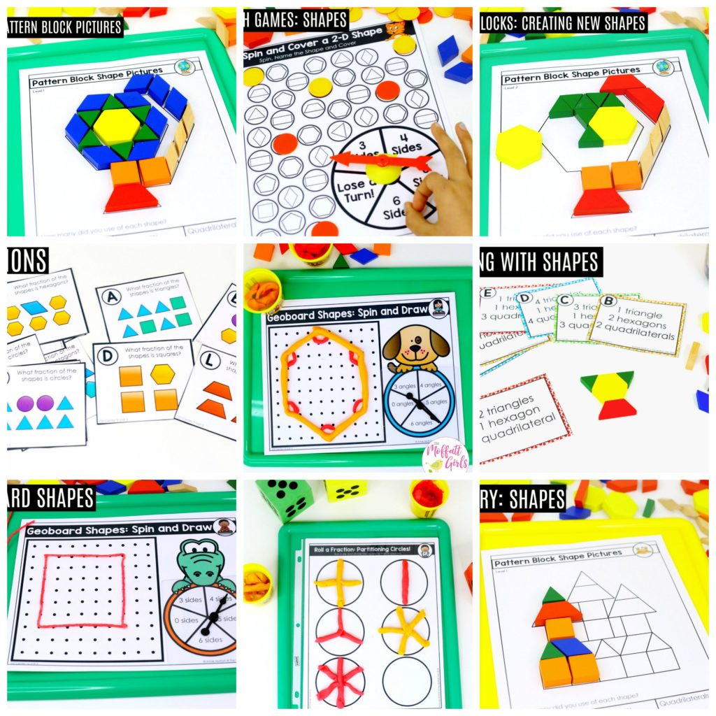 Fun Ways To Teach Fractions And Geometry In Second Grade