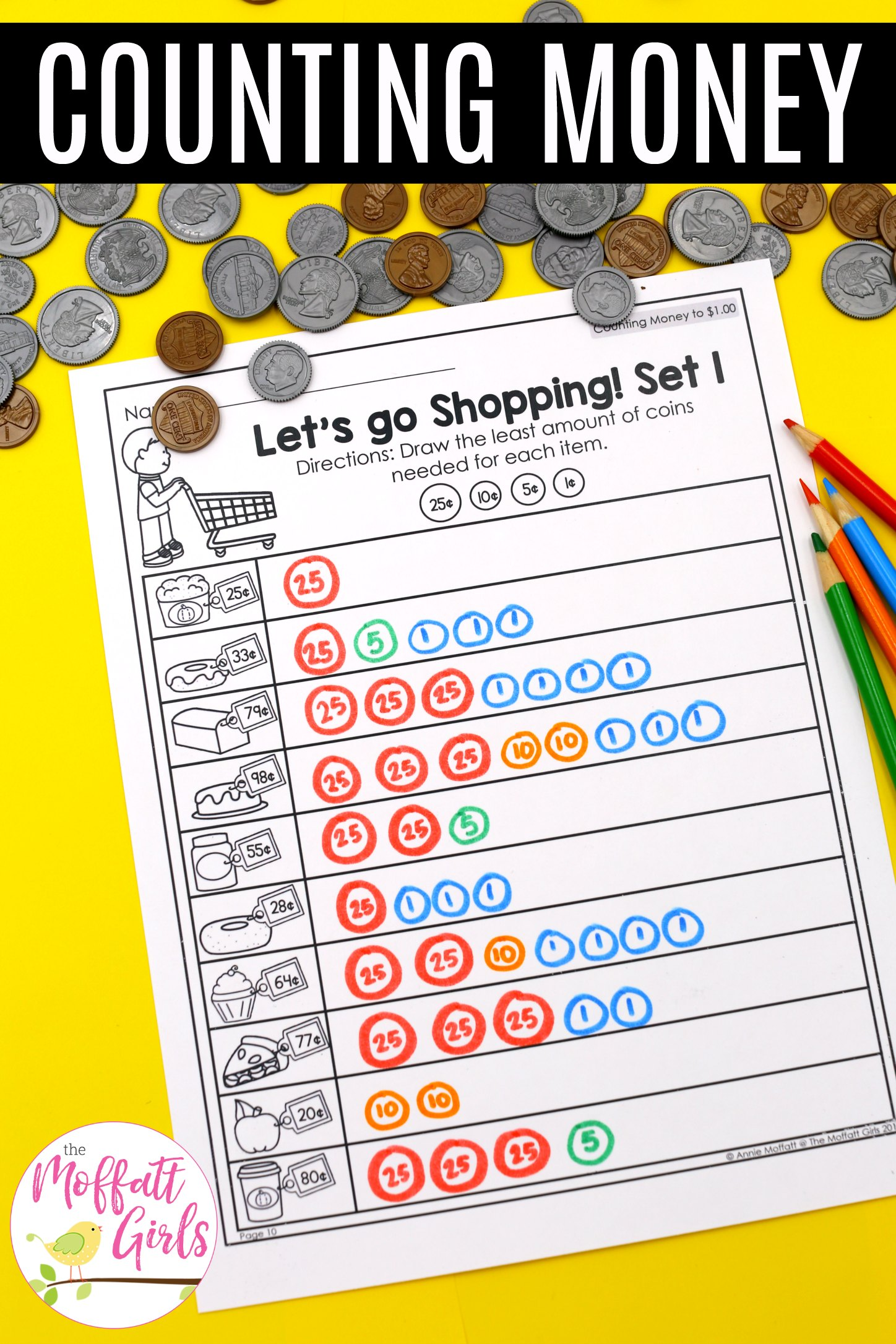 Money Worksheets 2nd Grade 5b